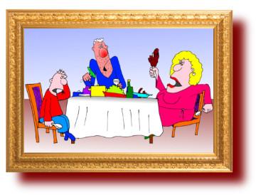 карикатуры про детей и взрослых