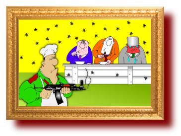 карикатуры про нефтяных магнатов