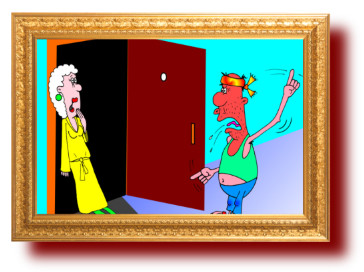 приколы и карикатуры про соседей