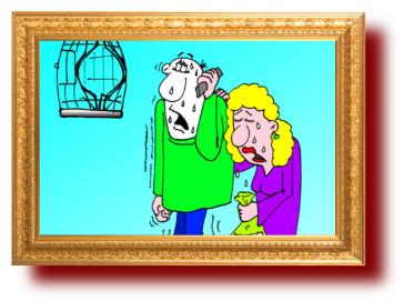 карикатуры: Гражданин звонит