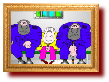 сатира в карикатурах на российских чиновников
