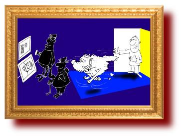 выражение с карикатурой про жизнь
