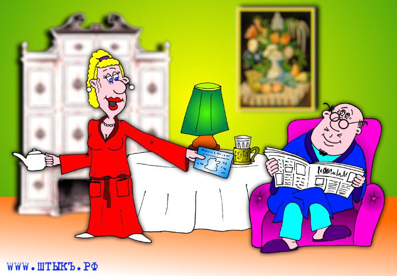 karikatura-umoristichesky-rasskaz