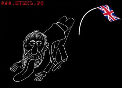 Карикатура на Абрамовича