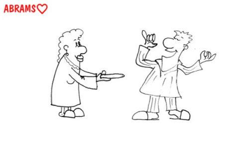Нет холодильника. Карикатура