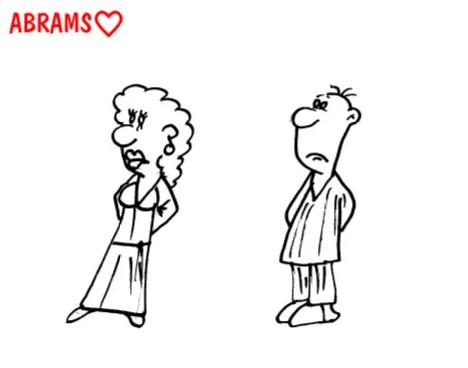 Тайны женской логики. Карикатура