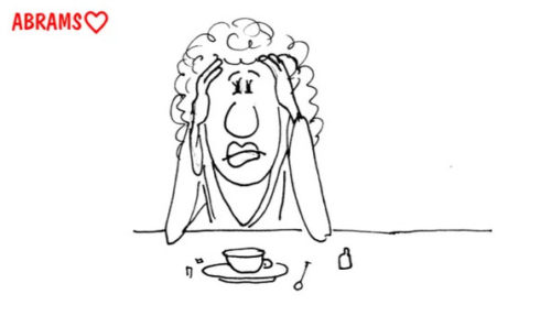 Собственный психолог - жена. карикатура