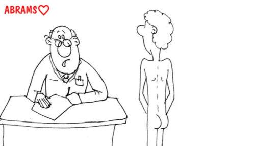 Женат или нет? Анекдот с карикатурой