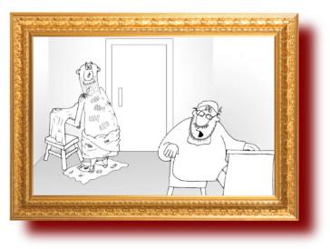 Анекдот: Чем грязнее, тем пациент здоровее. Миниатюра