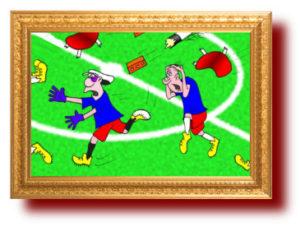 Про спорт в карикатурах