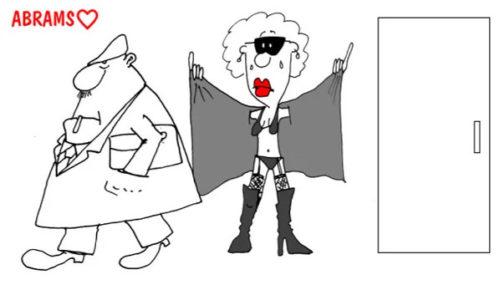 Карикатура: Прикол про Бэтмана