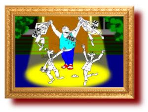 Про спорт в карикатурах и рисунках