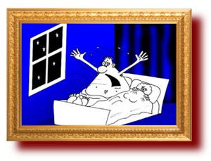 Карикатура. Полковник