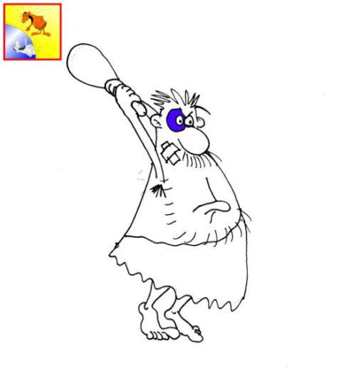 Карикатура к анекдоту: Что в постели -