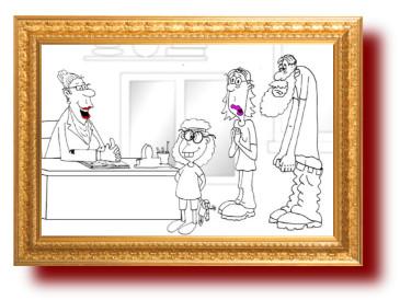 Странные детские имена. Карикатура