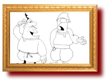 Сатира в анекдотах и картинках