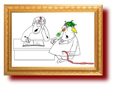 Карикатуры про здоровье