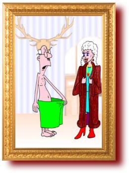 Карикатуры в картинках про женщин и мужчин