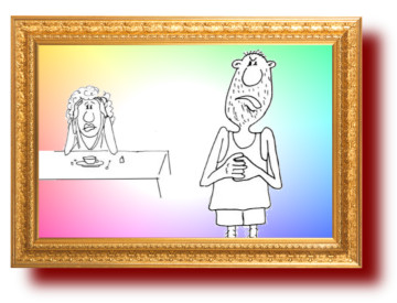 Собственный психолог дома в картинках