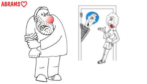 Познакомился тут дембель с одной. Карикатура