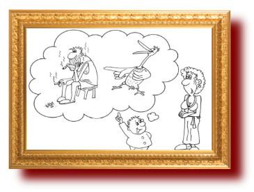 Карикатуры про отцов