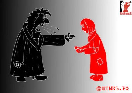 Сатира, анекдоты в карикатурах