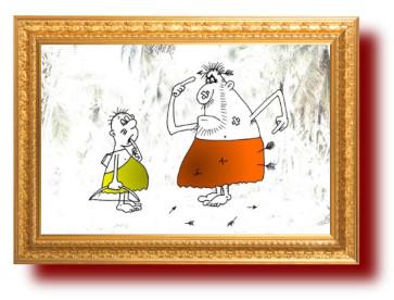 Про отцов и детей в картинках