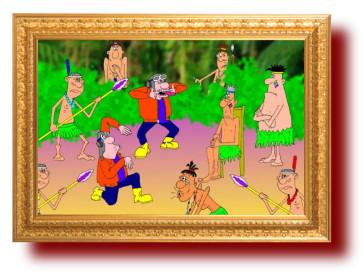 Карикатура. Банановые республики