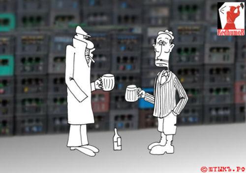 Политическая сатира: Как Гарант в народ ходил. Карикатура