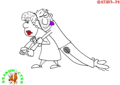Короткие анекдоты в картинках. Карикатура