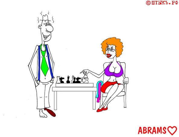 Анекдот-инструкция. Карикатура