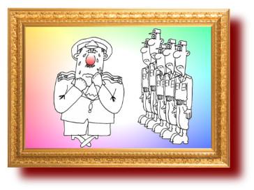 Армейский анекдот. Миниатюра