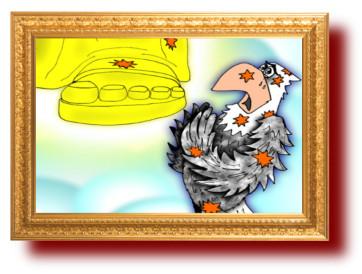Басни Эзопа в картинках. Орел и жук