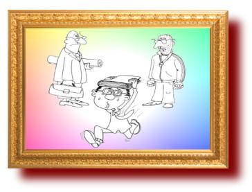 Анекдот про физрука и математика. Миниатюра