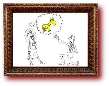 Карикатуры и приколы про любовь