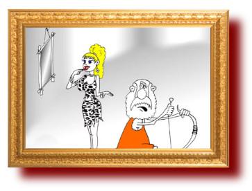 Про богатенького и молодую жену. юмор в картинках