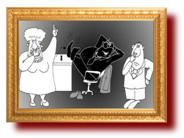 Сатира на чиновника в картинках