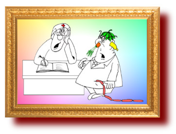 Анекдот про мужа и жену. Карикатуры