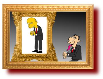 Политическая сатира в карикатурах