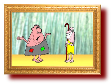 Картинки и веселые карикатуры про дикарей