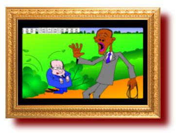 Политическая сатира в картинках. Обама