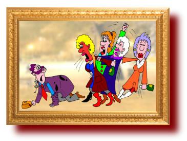 Смешные женские истории и анекдоты в картинках