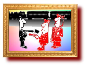 Мистер Ан Ализ и красный комиссар. Сатира