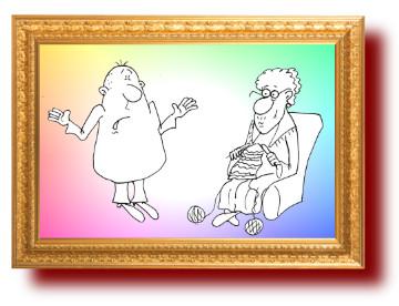 Прикольный анекдот про заботливую бабушку. Миниатюра