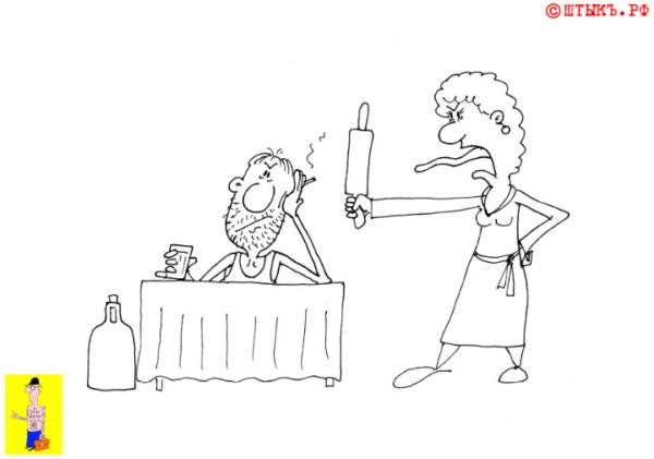 Как проверить шампанское на готовность. Карикатура