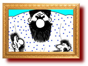 Прикольные анекдоты с веселыми карикатурами: Герасим