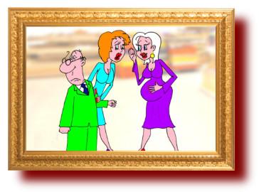 Анекдот про женские секреты