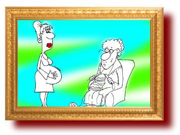 Анекдот-сказка про бабушку и внученьку. Юмор в картинках