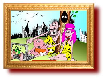 Забота о нации в самоизоляции. Карикатуры
