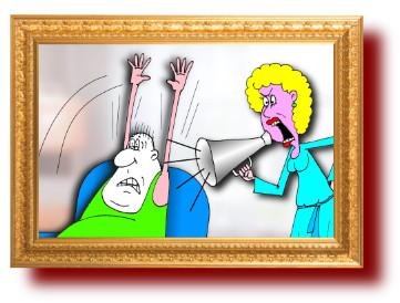 Анекдот про искусство слуХанья женщины